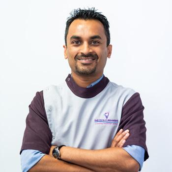 Dr Saket Rai, Dentist