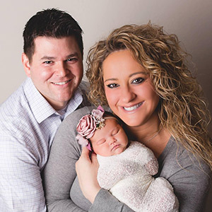 Dr. Kari and family