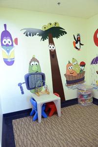 Our fun kids area