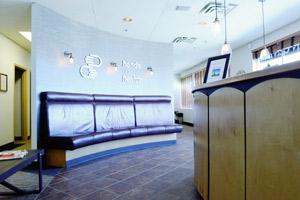 Dalhousie Family Chiropractic Reception Area