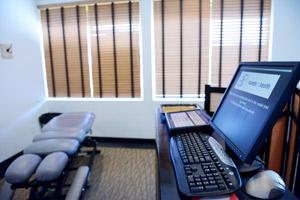Modern equipment in a comfortable environment