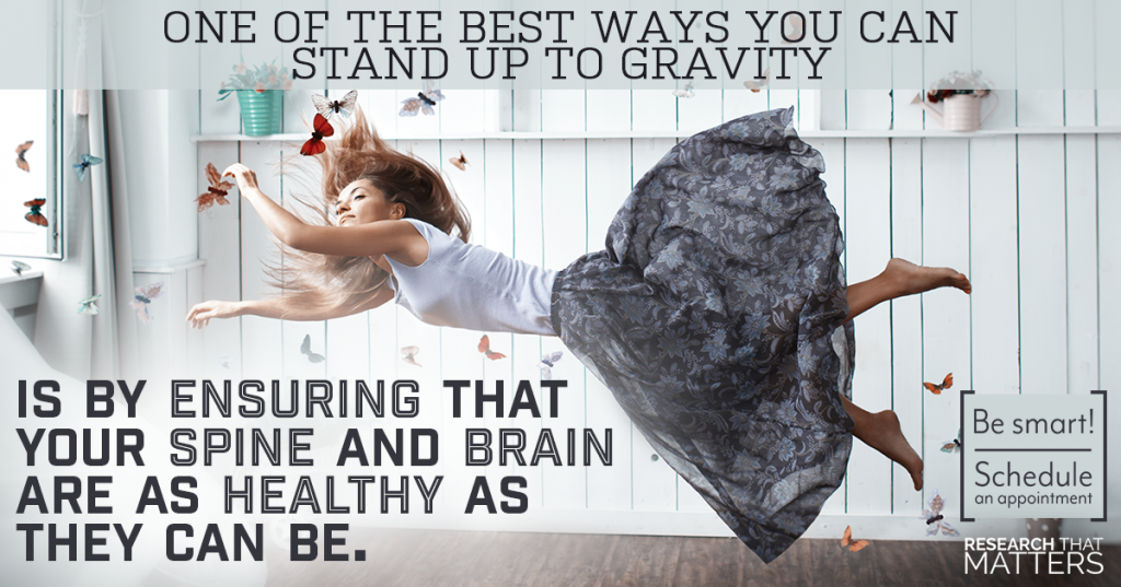 Research: Gravity goes to prison. Elevation Chiropractic Truckee CA