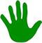 green-hand-icon