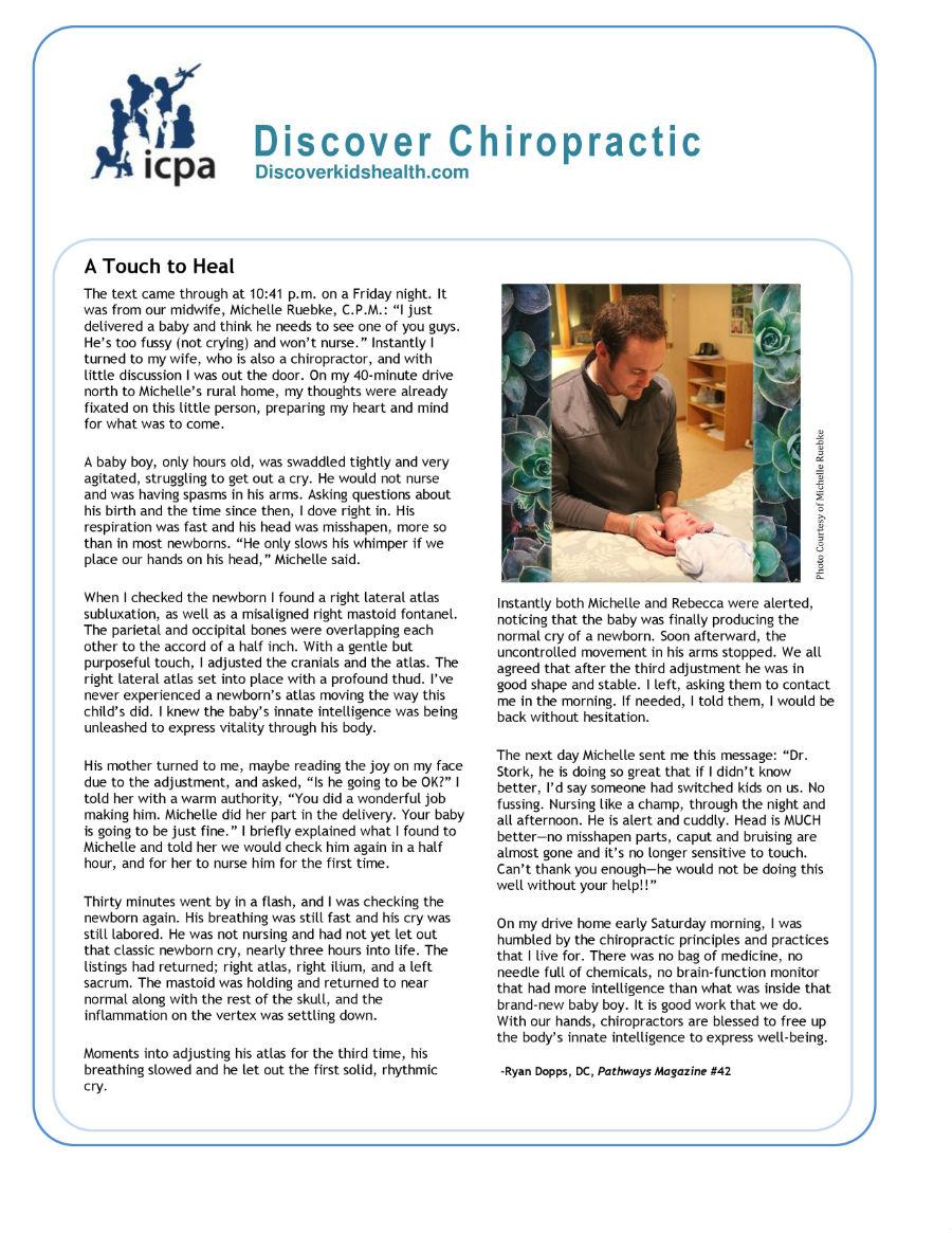 ICPA Newborn Article
