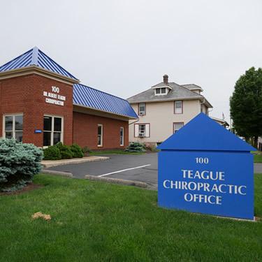 Teague Chiropractic Office exterior