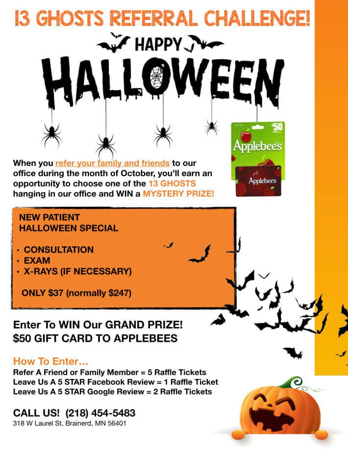 Halloween Referral Challenge