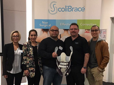 Appointed as Scolibrace provider for Indonesia