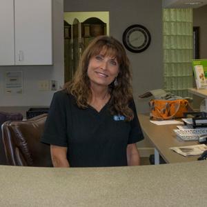 patient service representative Kathy Campolieto