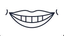 Illustration of smile