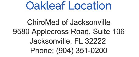 Oakleaf Location