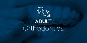 adult orthodontics button