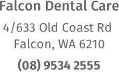falcon dental care address