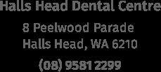 halls head dental address
