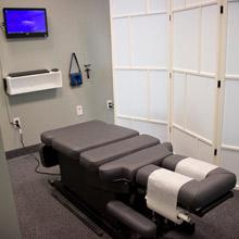 Kaur Chiropractic Adjustment Room