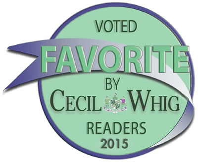 Chiropractor Elkton, Dr. Brian McDonald Cecil Wig Favorite