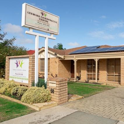 Leeming Chiropractic Centre Exterior