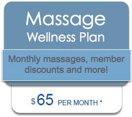 Massage Wellness Plan Special