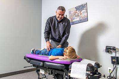 Lethbridge chiropractor Dr. Brad Parascak