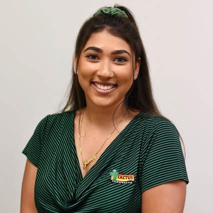 Jenay Braham, Junior Chiropractic Assistant
