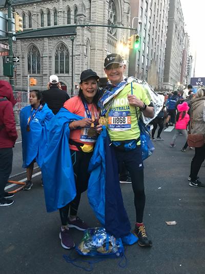 New Your Marathon 2018 Finishers