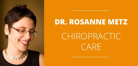 Chiropractor Downtown Toronto Dr. Rosanne Metz