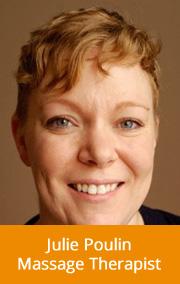 Massage Therapist Toronto Julie Poulin