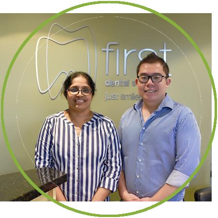 Dr Meena and Dr Vincent