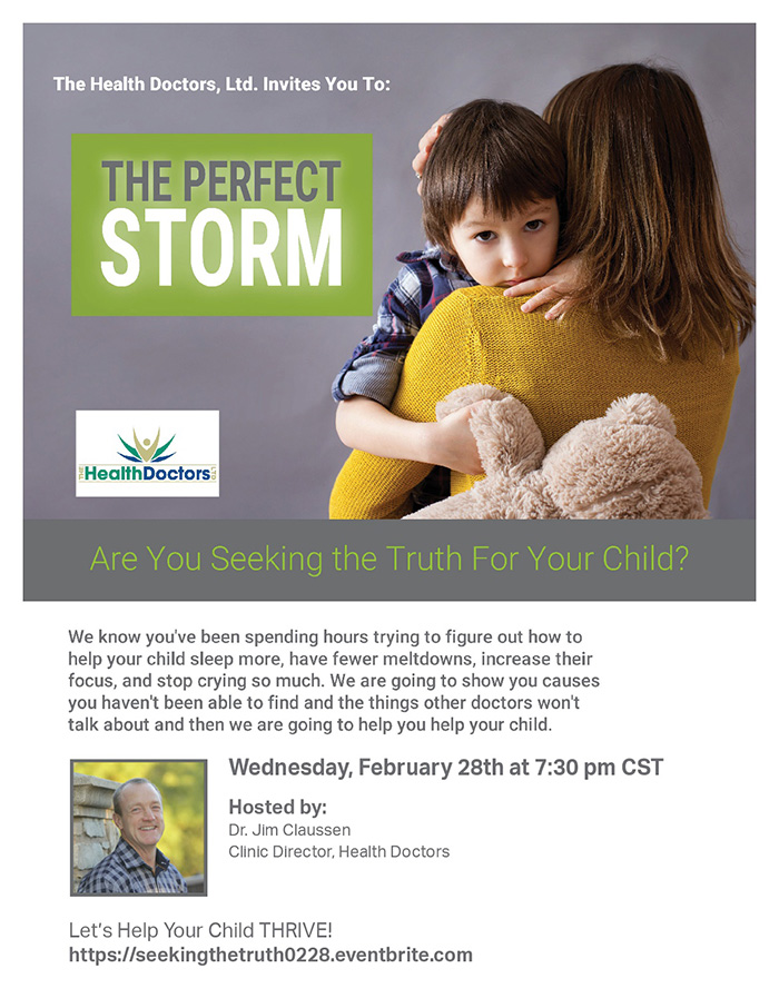 Perfect Storm Event Flyer