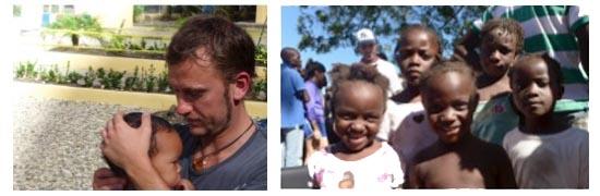 Dr. Oliver Dawson in Haiti