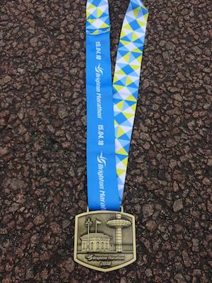 Brighton Marathon Medal