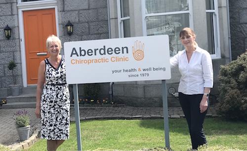 Aberdeen reception team