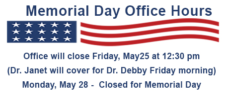 2018 Memorial Day Hours