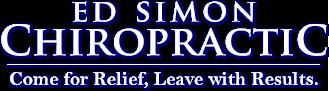 Ed Simon Chiropractic logo - Home