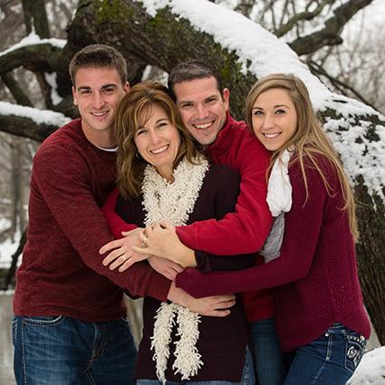 Dr Mark Family photo