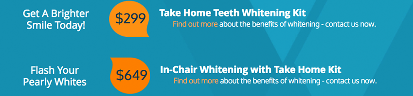 Kew teeth whitening special offers.