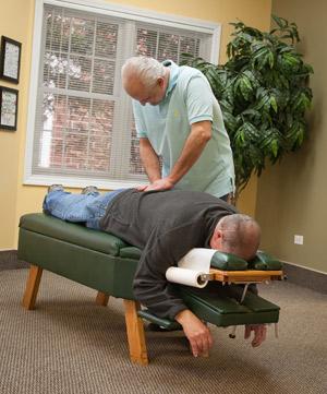 Back Chiropractic Adjustment