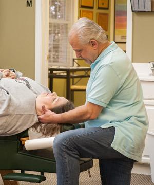 Cervical Chiropractic Adjustment