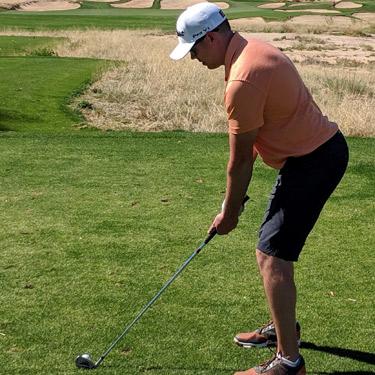 Dr Ryan golfing