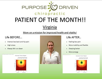 Patient of the Month Virginia