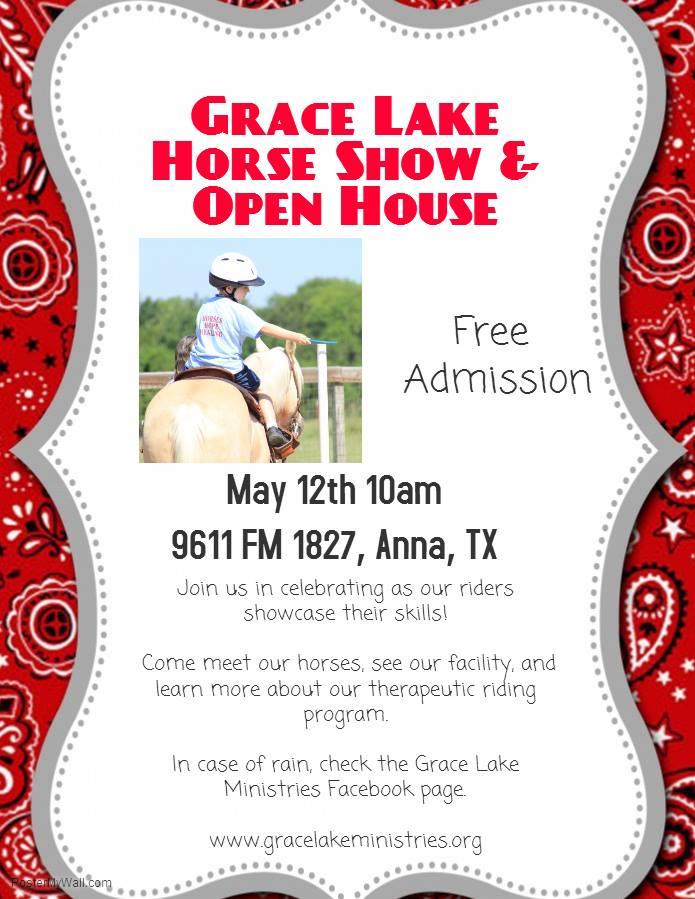Grace Lake Ministries Flyer