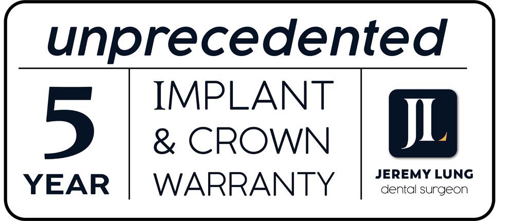 Implants-warranty