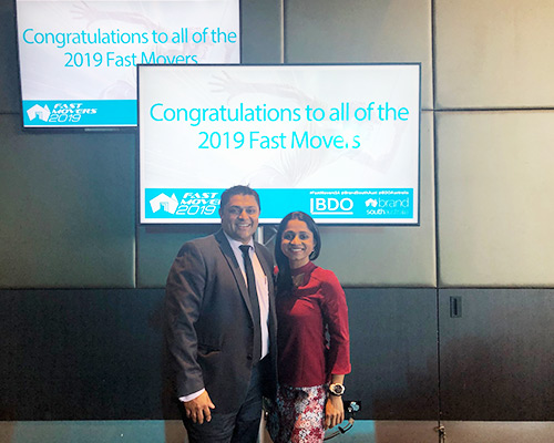 incredible smiles at fast movers awards