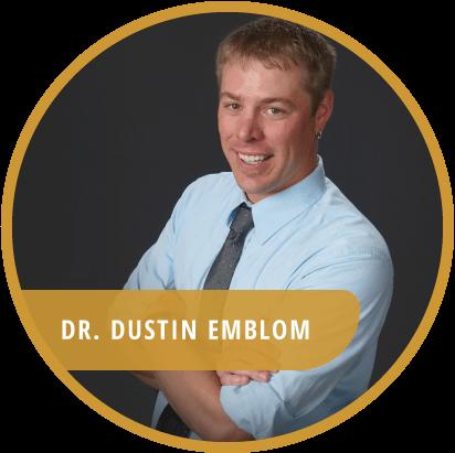 Dr. Dustin Emblom chiropractor St Cloud MN