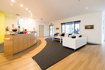 Stender Dental Studio Waiting Area
