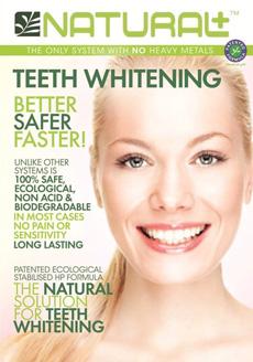 Image natural+ teeth whitening