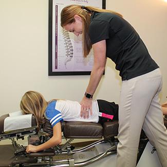 Child lumbar adjustment