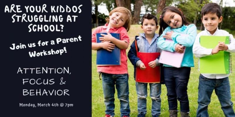 Parent Workshop for Kiddos Struggling at Schooll event info