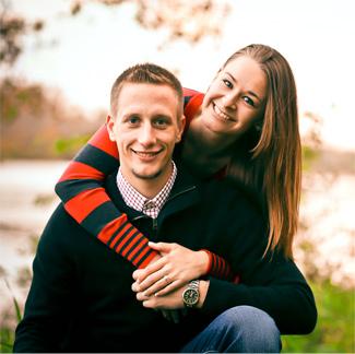 Dr Sean Bicknase and wife