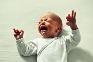 stressed baby