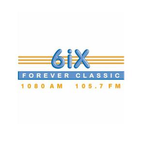 6ix radio station logo